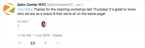 Zahn TwitterThanks